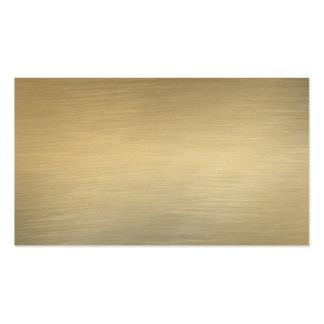 Gebürstete GoldVisitenkarten Visitenkarten