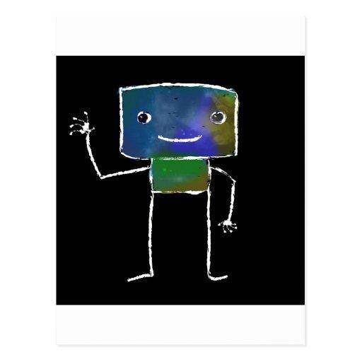 Gebürstete Roboter - Vol. 1: Lunabot Postkarten