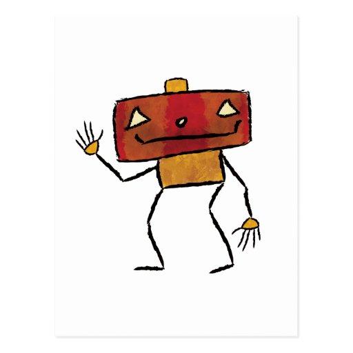 Gebürstete Roboter - Vol. 2: Jackbot Postkarten