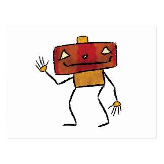 Gebürstete Roboter - Vol. 2: Jackbot Postkarte