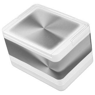 Gebürstetes Metall Kühlbox