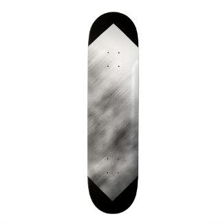 Gebürstetes Stahlgeschwindigkeits-Blick-graues 19,7 Cm Skateboard Deck