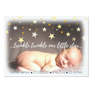 Geburt Announcemet 12,7 X 17,8 Cm Einladungskarte