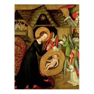 Geburt Christi, c.1425 Postkarte