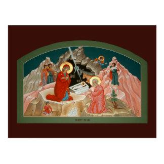 Geburt Christi der Christus-Gebets-Karte Postkarten