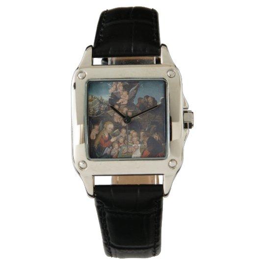 Geburt Christi, die Engel kennzeichnet Armbanduhr