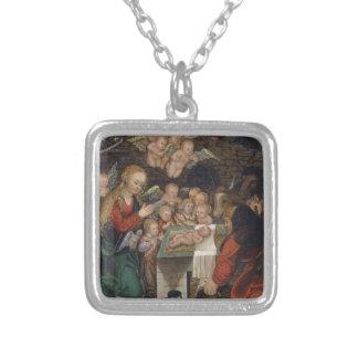 Geburt Christi, die Engel kennzeichnet Versilberte Kette