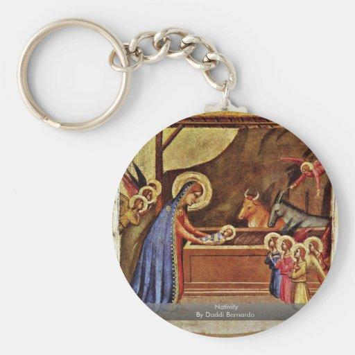 Geburt Christi durch Daddi Bernardo Schlüsselband