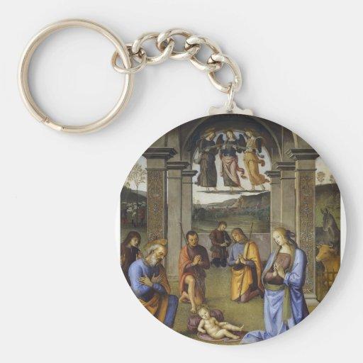 Geburt Christi Pietro Perugino- Schlüsselband