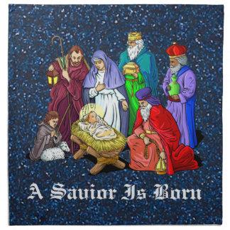 Geburt Christi Stoffserviette