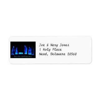 Geburt Christis-Adressen-Etikett