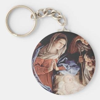 Geburt Christis-Szene Schlüsselanhänger