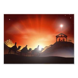 Geburt Christis-Szenen-Einladungen Karte
