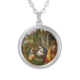 Geburt Christis-und Kinderengel c1515 Versilberte Kette