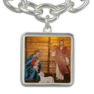 Geburt Christisszene Armband