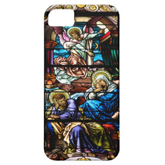 Geburt des Jesus-Buntglas-Fensters Etui Fürs iPhone 5