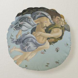 Geburt des runden Baumwollkissens Venus Rundes Kissen