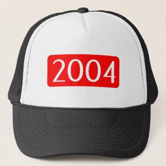 Geburt Jahrtext-Geburtstagszahl 2004 Truckerkappe