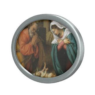 Geburt Ovale Gürtelschnallen