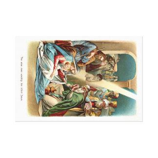 Geburt von Christus Galerie Faltleinwand