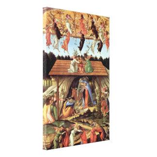 Geburt von Christus, mystische Geburt durch Sandro Leinwanddruck