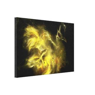 Geburt von Phoenix Leinwanddruck
