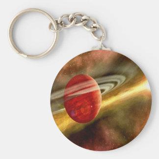 Geburt von Saturn Schlüsselband