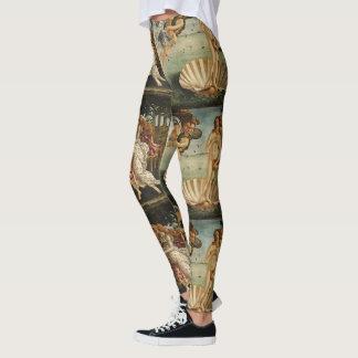 Geburt von Venus durch Sandro Botticelli Leggings