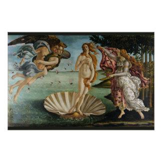 Geburt von Venus durch Sandro Botticelli Poster