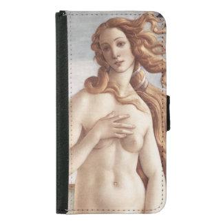 Geburt von Venus im Detail durch Sandro Botticelli Samsung Galaxy S5 Geldbeutel Hülle