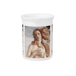 Geburt von Venus im Detail Getränke Pitcher