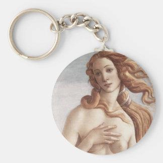 Geburt von Venus im Detail Schlüsselanhänger