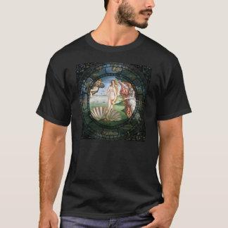Geburt von Venus-Motiv T-Shirt