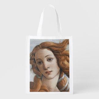 Geburt von Venus nah oben durch Sandro Botticelli Tragetaschen