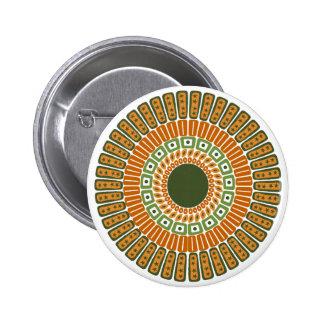 Gebürtig-Inspirierter Knopf Runder Button 5,1 Cm
