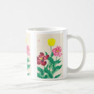 Gebürtige Blumen Shodo Kawarazaki Kunst Kaffeetasse