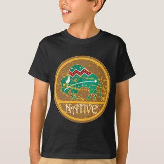 Gebürtige Büffel-Malerei T-Shirt