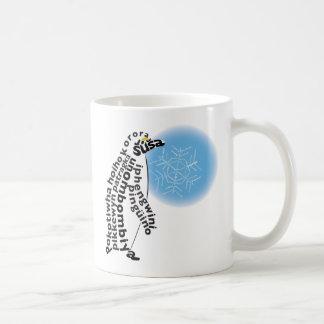Gebürtige Penguin-Tasse Kaffeetasse