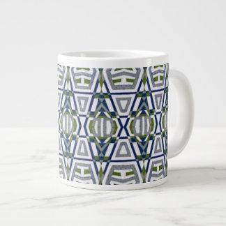 Gebürtige Stammes- riesige große Kaffee-Tasse Jumbo-Tasse