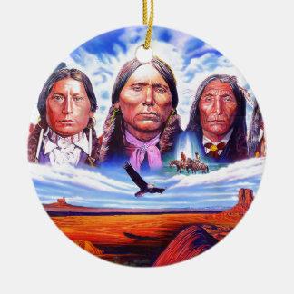 gebürtige Ureinwohnerleiter Keramik Ornament
