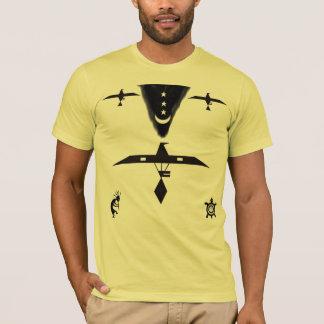 Gebürtiger Amerikaner-Geist-Shirt T-Shirt