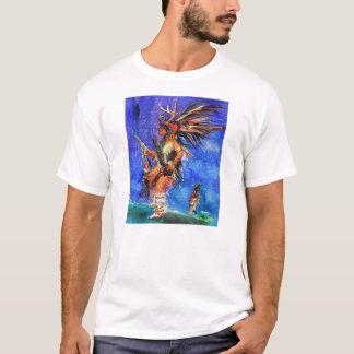 Gebürtiger Amerikaner-tanzender hochwertiger T - T-Shirt