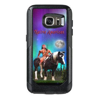 Gebürtiger amerikanischer Ureinwohner OtterBox Samsung Galaxy S7 Hülle