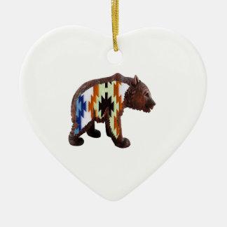 Gebürtiger Bär Keramik Ornament