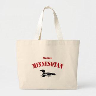Gebürtiger Minnesotan Jumbo Stoffbeutel