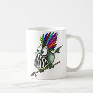 Gebürtiger Piranha Kaffee Tassen