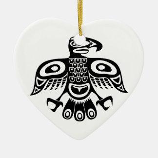 Gebürtiger Totemvogel Keramik Ornament