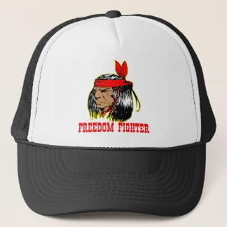 Gebürtiger Ureinwohner-Freiheits-Kämpfer Truckerkappe