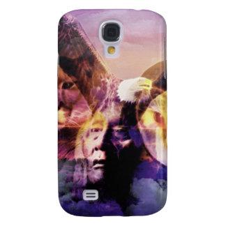 Gebürtiger Ureinwohner-Krieger Galaxy S4 Hülle