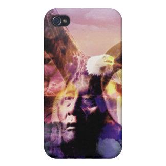 Gebürtiger Ureinwohner-Krieger iPhone 4 Case